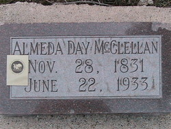 almeda gravestone